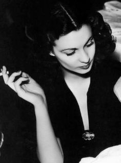 Vivien Leigh like it would hurt if she had to move in the slightest way at all to acknowledge anyone... I think we are soul mates!