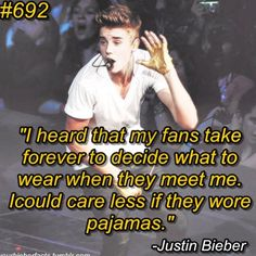 Well... He wears pajamas to meet and greets so.. :) BUT SERIOUSLY I LOVE HIM SO MUCH <3