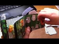 The Secret Garden Toilet Paper Roll Mini Album February 2012 SOLD.wmv
