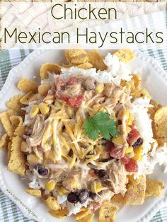 Chicken Mexican Haystacks