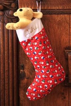 The Right Size Sew Christmas Stocking Christmas Sewing Patterns, Christmas Sewing Projects, Christmas Stocking Pattern, Christmas Fabric, Burlap Christmas, Christmas Quilting, Classy Christmas, Noel Christmas, Christmas Ideas