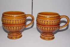 Unusual Vintage Retro Mugs 60's 70's SECLAPortugal - Quirky Kitsch