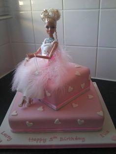 Barbie Doll cake made by Annie Thomas