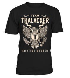 Team THALACKER - Lifetime Member