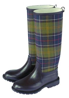 4071bf76b8a5 Plaid Wellies Scottish Plaid, Scottish Tartans, Barbour Wellies, Best  Winter Boots, Fly