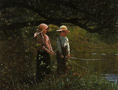 Winslow Homer - Fishing