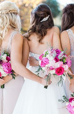 Sparkly Fuchsia Wedding - Inspired by This