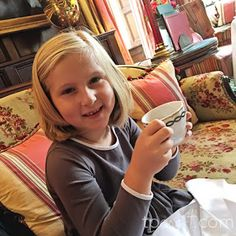 TPcraft.com: Summer Abroad with Kids :: Afternoon Tea at the Milestone Hotel in London
