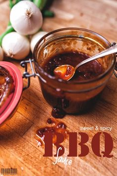 BBQ sauce - recipe with picture - Making BBQ sauce yourself is simple. Making BBQ sauce yourself is simple. Making BBQ sauce yourself - Make Bbq Sauce, Best Barbecue Sauce, Barbecue Sauce Recipes, Pulled Pork Recipes, Grilling Recipes, Smoker Recipes, Vegetarian Grilling, Cooking Recipes, Healthy Grilling