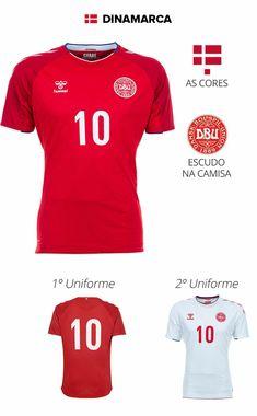d24233dde876e 32 melhores imagens de 32 Camisas das Seleções da Copa do Mundo ...