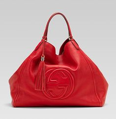 Red... not only my favorite color, but goes well with handbags too.