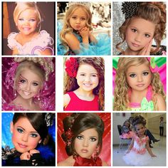 "Training kids to become the ideal princess, starting with their looks.""Toddlers and Tiaras"" focuses on the physical attributes which is magnified through the use of makeup. Beauty is power, even at a young age."