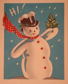 I would love to receive these vintage cards at Christmas. Glitter ones were gorgeous.