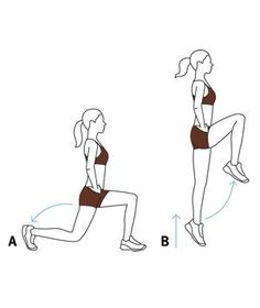 Quick Plyometric Exercise: Lunges With Hops