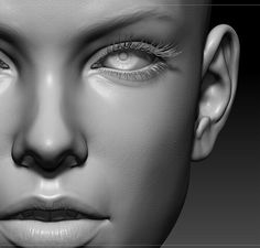 Face Face Anatomy, Anatomy Study, Zbrush Anatomy, Facial Muscles, Female Character Design, Character Art, 3d Face, 3d Artwork, Female Reference