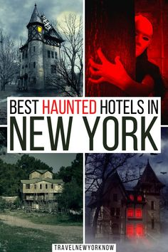 Haunted Hotels in New York | Haunted Hotels in New York City | Haunted Hotels NYC | New York Travel | New York itinerary | Things to do in New York | Best Places to stay in New York | New York Getaways | New York State Travel | New York State Itinerary | Top Places to go in New York State | Halloween in New York | Halloween Travel | Dark Tourism | What to do in New York State | New York State Photography | Cute Places in New York State | New York Photography | Where to go in New York | I love NY New York Vacation, New York City Travel, Haunted Hotel, Most Haunted, Us Travel Destinations, Amazing Buildings, Travel Inspiration, Travel Ideas, Culture Travel