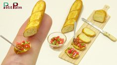 DIY How to make Miniature French Baguette Tutorial - Petit Palm