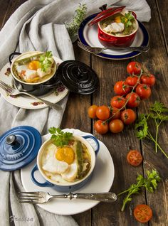 because bacalao en cocotte con huevo is as fun to say as it must be to eat