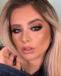📸 by 𝕸𝖆𝖐𝖊 𝖀𝖕 𝕴𝖓𝖘𝖕𝖎𝖗𝖆𝖙𝖎𝖔𝖓𝖘 💋 Casual Makeup, Sexy Makeup, Glam Makeup, Bridal Makeup, Wedding Makeup, Makeup Tips, Hair Makeup, Makeup Ideas, Holiday Makeup Looks
