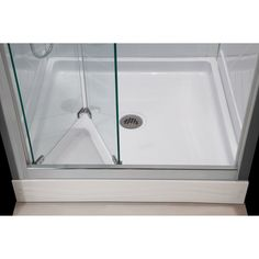 DreamLine Butterfly 34 to 35.5-inch Frameless Bi-Fold Shower Door