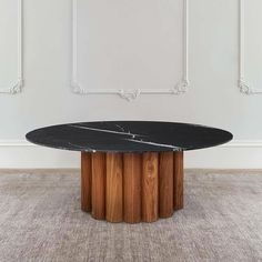 Located in North Queensland, Australia, Daintree Rainforest inspired us to create that amazing dining table in wood and marble to perfectly fit in your home decor! Furniture, Wood, American Walnut, Dining, Side Table, Dining Table, Table, Home Decor, Marble