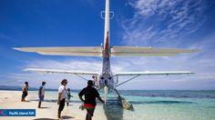 Pacific Island Air DQ-PIA at Vewa Island Resort, Fiji