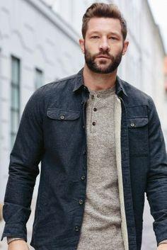 ישראל :Next - קנה חולצה מרופדת עם שרוול ארוך בצבע כחול כהה באינטרנט היום ב