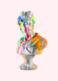 The Boy Who Dreamt of Stars by Chad Wys. A project? Combine one Era sculpture with painting style of other