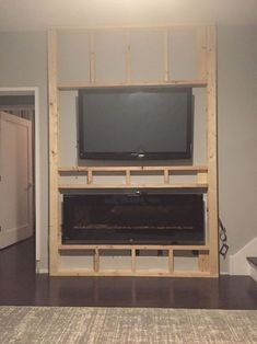 I am writing this post midway through mortaring on ledge rock for the fireplace bump out I've been working on. But before I lash out my frustrations regarding having to be a mason once again,… # fireplace tv wall, The wall of…. Fireplace Tv Wall, Fireplace Remodel, Fireplace Design, Fireplace Ideas, Electric Wall Fireplace, Electric Fireplaces, Fireplace Inserts, Fireplace Mounted Tv, Tv Stand With Fireplace