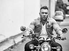 Rebel Without A Cause: Jai Courtney strikes a pose in the latest issue of Men's Health magazine