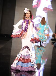 AURORA GAVIÑO & MARY PAZ Más Gaviño que nunca! - Simof 2013 Spanish Fashion, Spanish Style, Boho Inspiration, Ruffles, Harajuku, Mermaid, Princess Zelda, Clothes, Dresses
