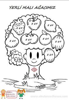 Image result for worksheet for colouring fruits | Cool ...