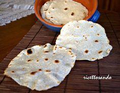 tortillas messicane con lievito madre