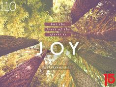 First 15: Joy in every circumstance