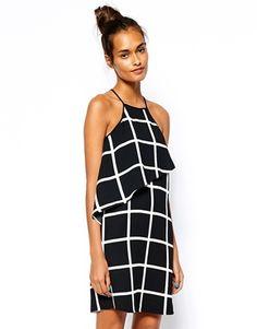 Bild 1 vonRiver Island Check Cami Dress