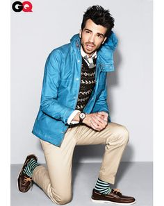 Jay Baruchel.  He's got that adorably nerdy thing goin' on most of the time. :)