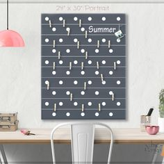 A beautiful way to display your cards and memos and decorate any room. This display board can be hanged in a dorm, kids room, teens room, office, kitchen, family space & more. Personalization option. 10 design options. Hand painted canvas with wooden clothespins #giftforher #Bulletinboard #cardsdisplay #graydot #dotroom #polkadot #grayroomdecor #boysroom #giftforgirl #teensroom #officeorganizer #memoholder #homeorganizer #personalizedgift #giftforteens #freeshipping #christmasgift… Baby Room Art, Kids Room Art, Kids Room Design, Baby Girl Gifts, New Baby Gifts, Bulletin Board Design, Bulletin Boards, Polka Dot Room, Unique Gifts For Kids