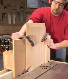 Making raised panel doors with a table saw
