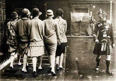 Cinco mujeres y un escocés, 1927