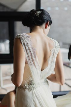 Nardos Imam wedding dress | Photo by Apryl Ann Photo