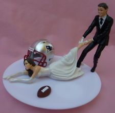 In the off chance I ever he married, this would be the PERFECT wedding cake topper!