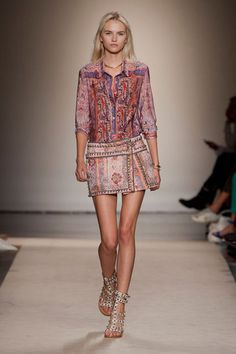 paisley perfection | isabel marant | spring/summer 2013