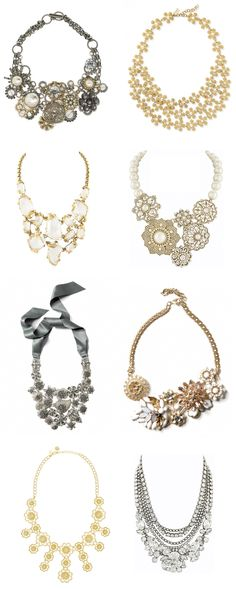 Chunky Statement Necklaces