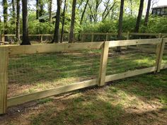 make a framed in fence with welded wire fencing - Google Search