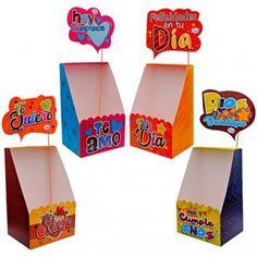 Sweet Box, Carton Box, Candy Bouquet, Ideas Para Fiestas, Happy Birthday Images, Party Printables, Diy And Crafts, Balloons, Creative