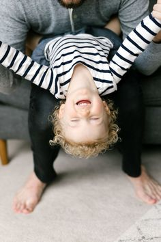 Lora Grady family photos at home in natural light. Lifestyle photographs of a family of three in Bellevue/Seattle Washington. Chelsea Macor Photography