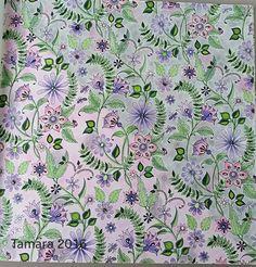Secret Garden Johanna Basford  Colored by : Tamara Rexroad