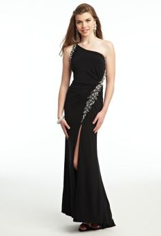 Prom Dresses 2013 - Long Jersey One Shoulder Dress from Camille La Vie and Group USA