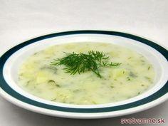 Klasická kôprová smotanová polievka polievka našej babičky.