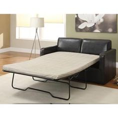 @Overstock - Add extra sleeping space for overnight guests with this full-size sleeper sofa, even if you are short on space. The rich espresso color helps this sofa look great in any living room or office. The full-size mattress measures 54 x 75.http://www.overstock.com/Home-Garden/Espresso-Sleeper-Sofa/5779542/product.html?CID=214117 $597.99